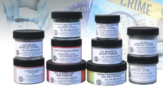 White Latent Print Powders - 2oz
