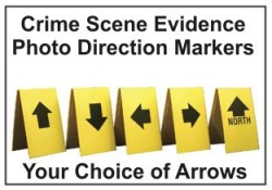 Crime Scene Evidence Markers