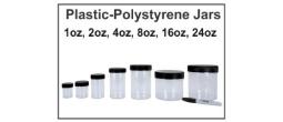 Plastic-Polystyrene Jars