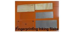 Fingerprint Inking Slabs
