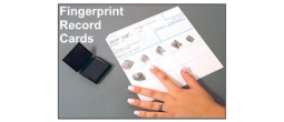 Fingerprint Cards and Fingerprinting Supplies
