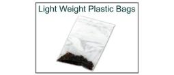 Lightweight 2 mil Plastic Ziploc