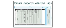 Inmate Property Collection Bags