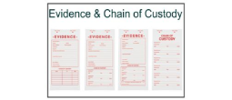 Evidence & Chain of Custody - Labels