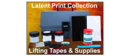 Latent Print Products, Gel Lifters and Lifting Tapes