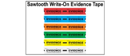 Evidence Tape - Sawtooth Write-On