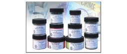 Silver / Black Latent Print Powders - 2oz