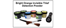 Invisible Thief Detection Powder