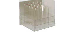 Swab Carrying Case with Rack