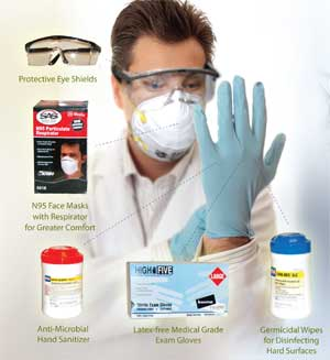 Personal Protection Bloodstain Identification Alcohol Breath Analyzers Syringe Protection/Collection Kit