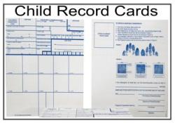 Child Fingerprint Record Cards