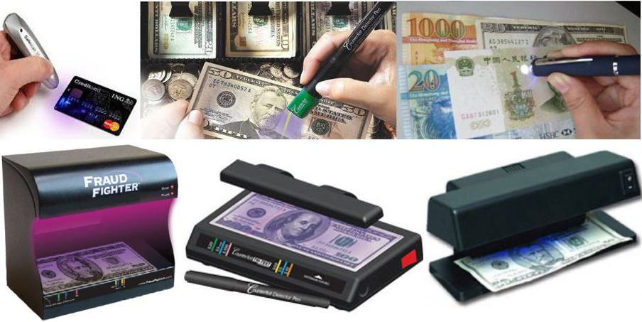 Counterfeit Bill Detectors
