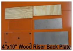 """4"""" X 10"""" Wood Riser"""