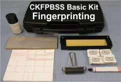 Basic Fingerprint Kit, W/Single Steel Slab